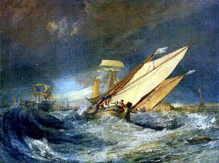 Boarding fishing boat