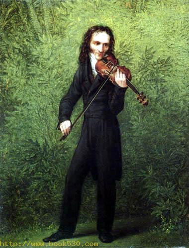 The Violin Player Niccolo Paganini
