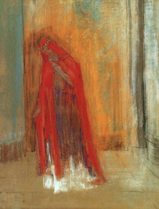 Oriental Woman (Woman in Red)