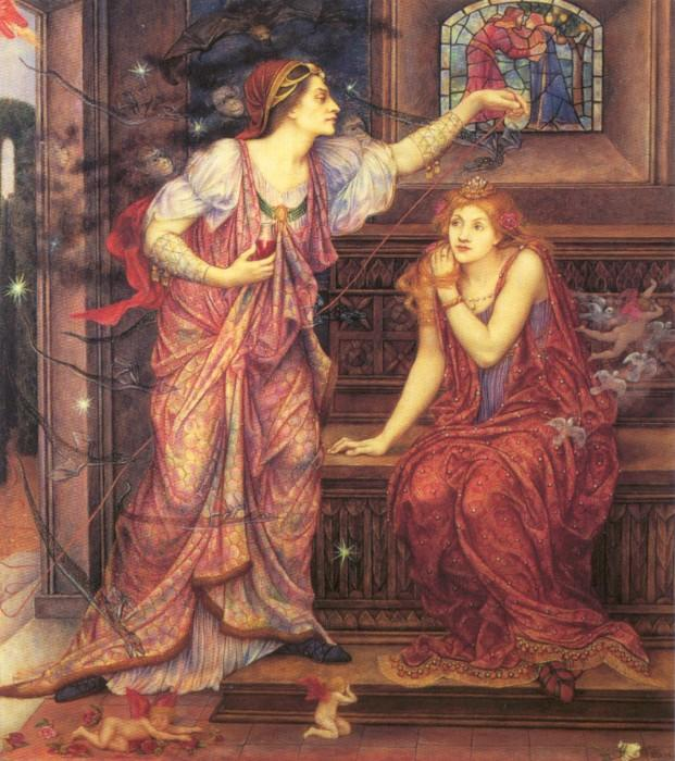 Queen Eleanor and Fair Rosamund