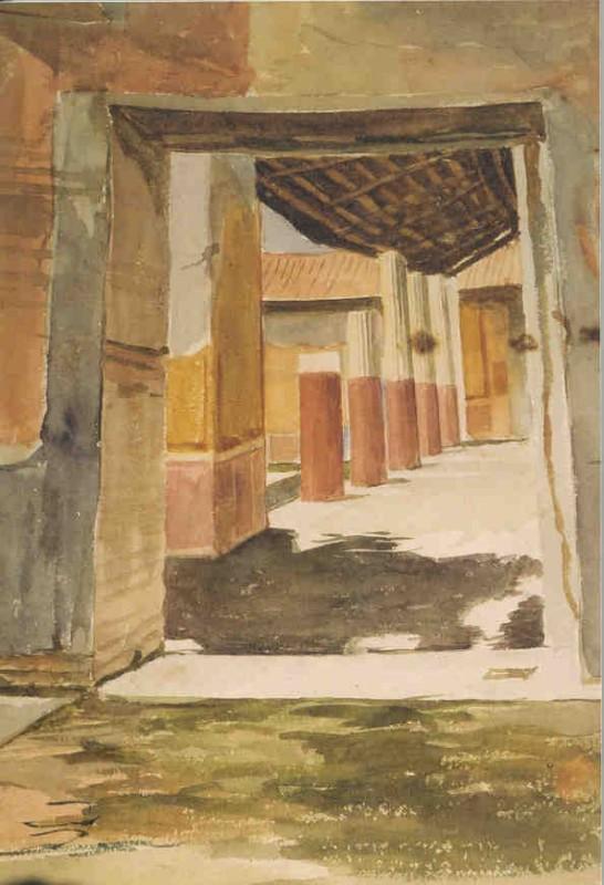 Scene at Pompeii
