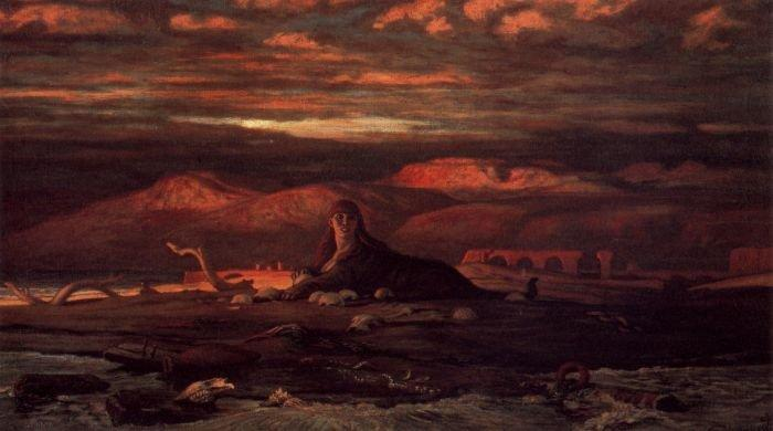 The Sphinx of the Seashore