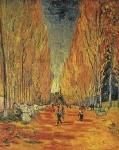 Allee Des Alyscamps Vincent van Gogh Oil Painting