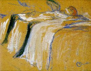 Alone Henri de Toulouse Lautrec Oil Painting