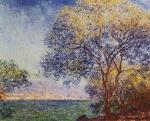 Antibes Morning Claude Monet Oil Painting