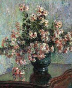 Chrysanthemums Oil Painting