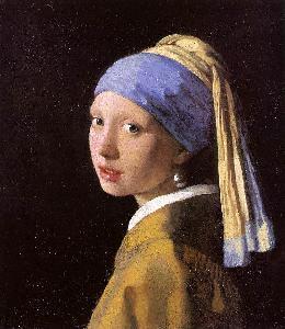Girl With A Pearl Earring Jan Vermeer Oil Painting