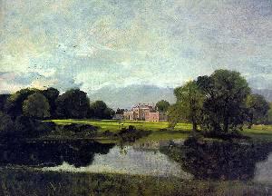 Malvern Hall Oil Painting
