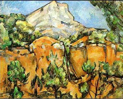 Mont St. Victoire Oil Painting