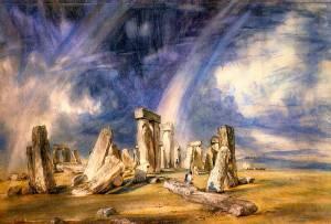 Stonehenge Oil Painting
