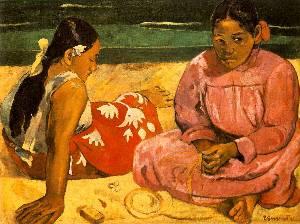 Tahitian Women Oil Painting