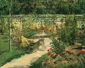 The Artist%27s Garden%2C Versail Oil Painting