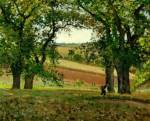 The Chestnut Trees at Osny Oil Painting