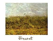 Wheat Field with a Lark Oil Painting