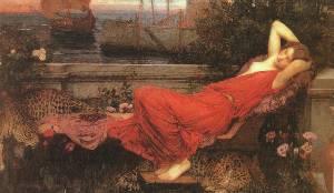 Adriadne Oil Painting