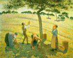 Apple Picking at Eragny sur Epte Oil Painting