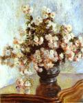 Chrysanthemums Claude Monet Oil Painting
