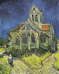 Church at Auvers Oil Painting