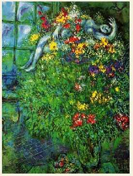 Le Bouquet Ardent Oil Painting