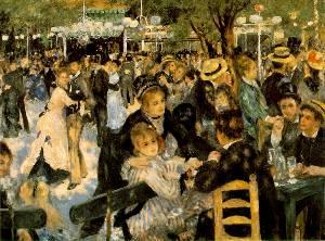 Le Moulin De La Galette Oil Painting