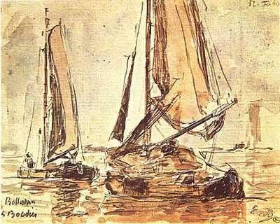Marine Scene Oil Painting
