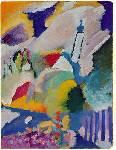 Murnau with Church I Oil Painting