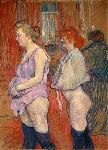 Rue des Moulins Henri de Toulouse Lautrec Oil Painting