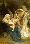 Song of the Angels Adolphe William Bouguereau Oil Painting