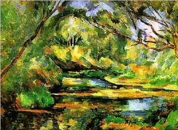 The Brook Oil Painting