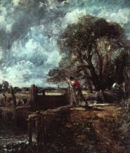The Lock at Dedham Oil Painting