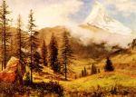 The Matterhorn Albert Bierstadt Oil Painting