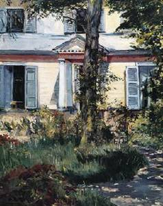 Villa at Rueil Oil Painting