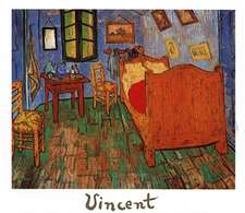 Vincent%27s Bedroom in Arles Oil Painting