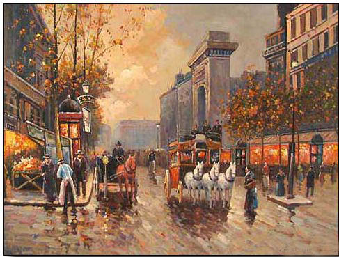 Paintings City Scenes Cities Oil Painting