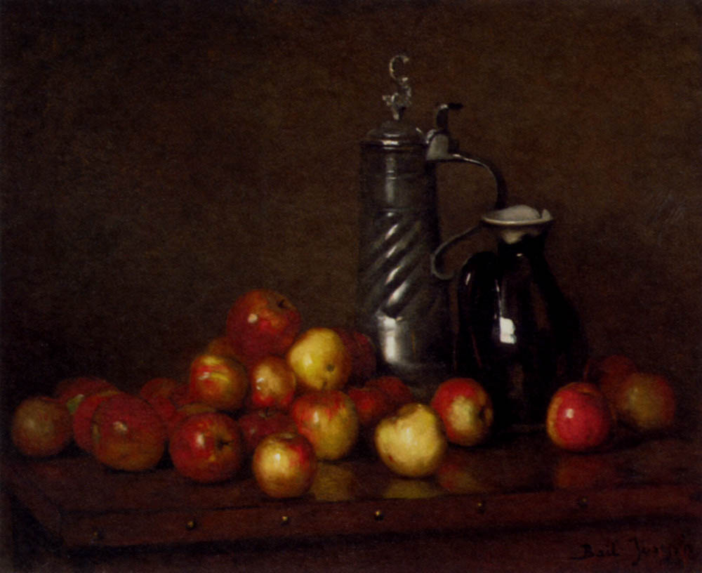 Cuisine oil painting