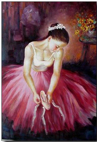 Ballet Oil PaintingBallet Painting Paintings Of