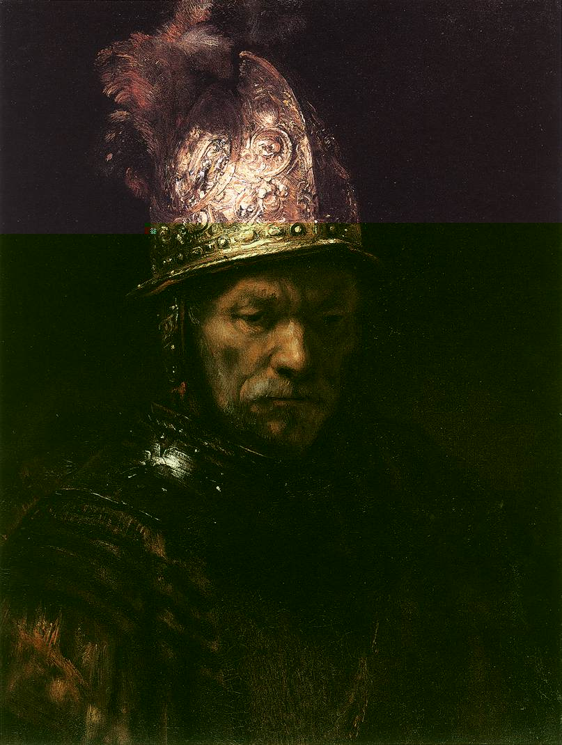 Knights oil painting