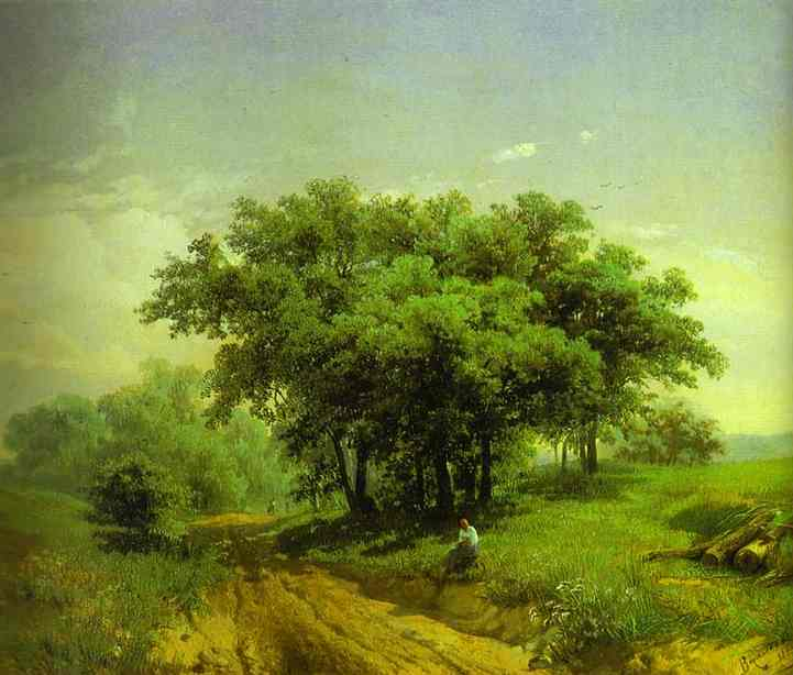 Oil painting:Hot Summer Day. 1869