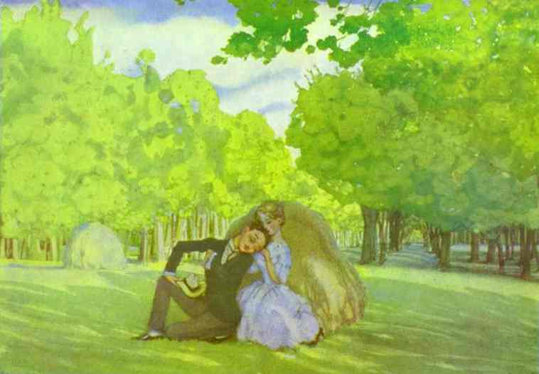 Oil painting:Summer. 1904