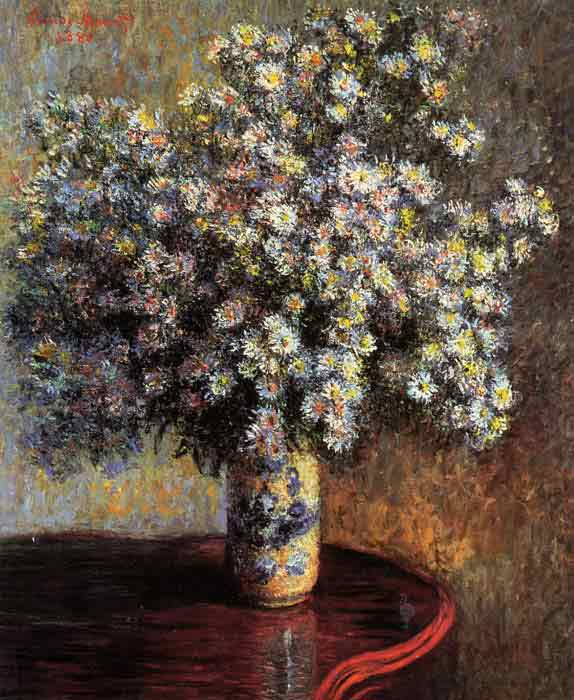 Oil painting for sale:Asters , 1880