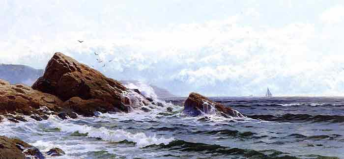 Oil painting for sale:Crashing Waves