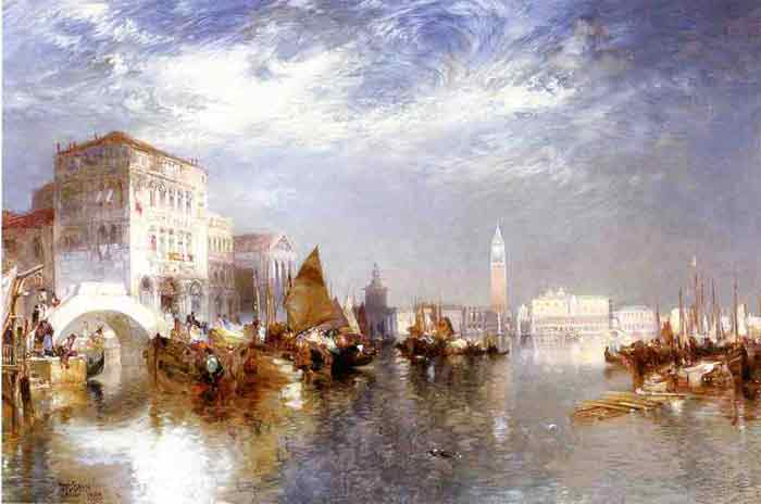 Oil painting for sale:Glorious Venice, 1888