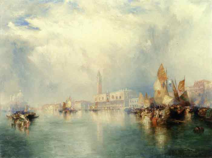 Oil painting for sale:Venice - Grand Canal, 1912
