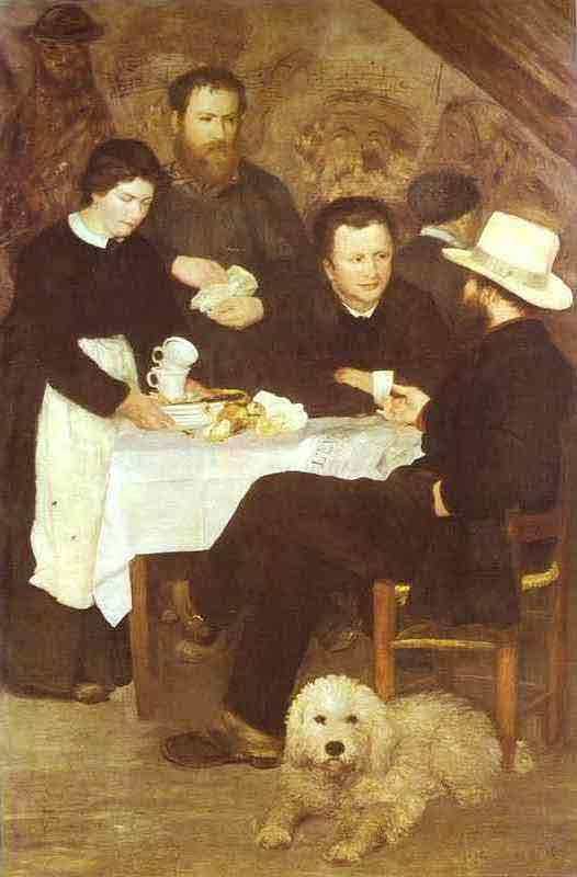 At the Inn of Mother Anthony. 1866