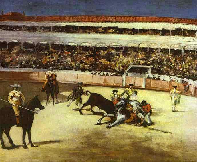 Bull-Fighting Scene. 1865