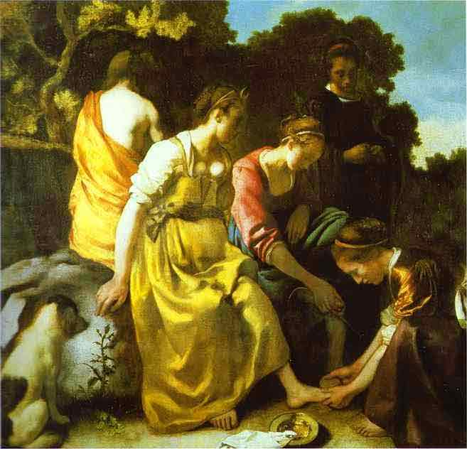 Diana and Her Companions. c.1655