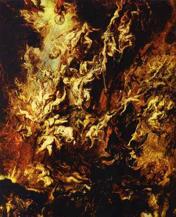 Fall of the Rebel Angels. 1618