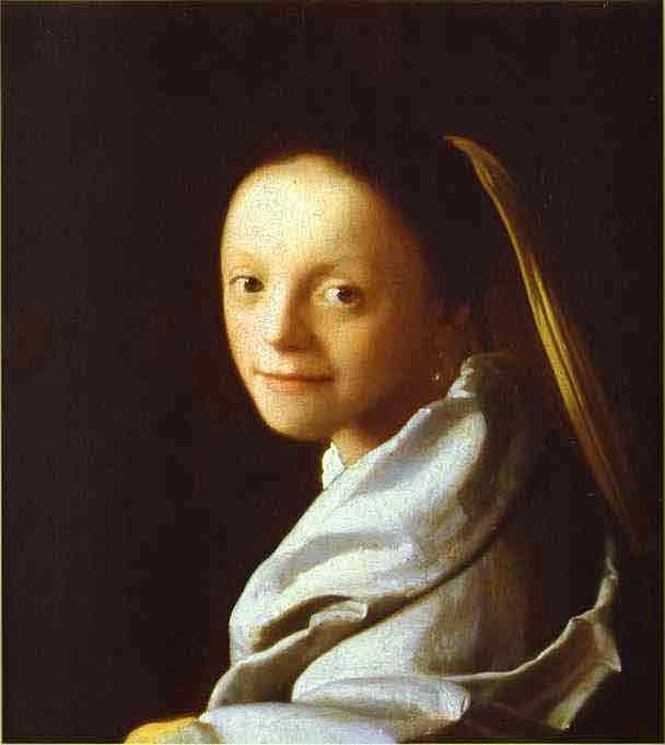 Head of a Girl. c.1666