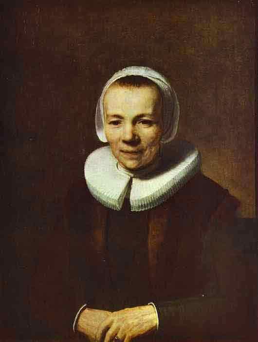 Portrait of Baartjen Martens. c. 1634