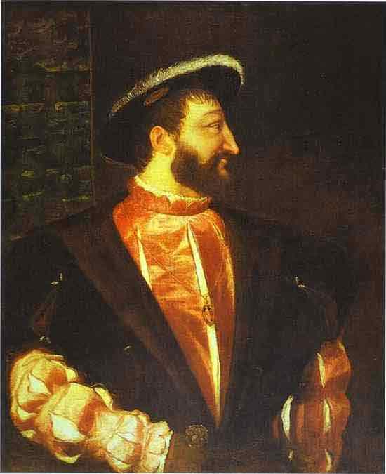 Portrait of Francis I. 1539